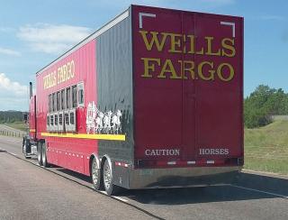 Wells Fargo truck