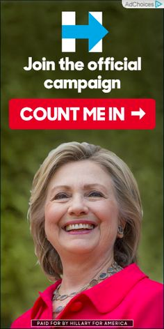 Hillary Clinton online ad