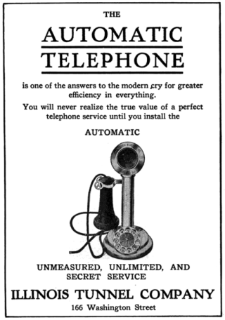 Telephone advertisement